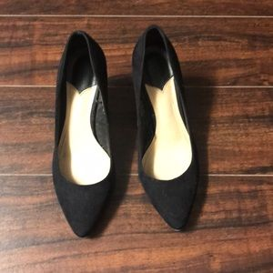 Suede Black H&M Heels. Size 7/38.